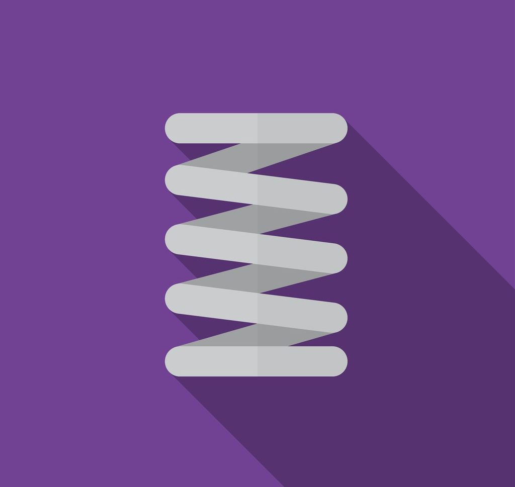How do you correctly rate a coil spring?, Canted Coil Springs | Peek Springs | Garter Springs